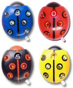 Swarovski Crystal Ladybug Score Counter 4-Pack
