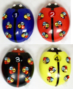 Swarovski ICE Crystal Ladybug Score Counter 4-Pack
