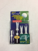 "Daiya Golf-Aero Spark Tee -3.3"" long -Clear Color (8-Pack) Set"