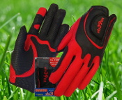 Fit39 Glove Ladies Red/Black